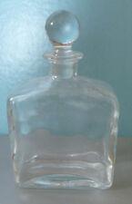 flacon verre décoratif copie d'ancien 11 x 19,5 cm