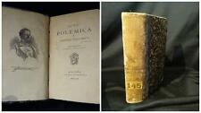 Nova polemica – Stecchetti – 3° ediz. 1882 + Odi barbare – Chiarini - 1878