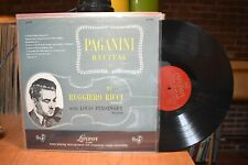 Ruggiero Ricci Persinger Paganini Recital LP London LL-1005 Mono