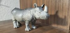 Schleich Indian Rhino One Horn Very Rare Retired Good Condition