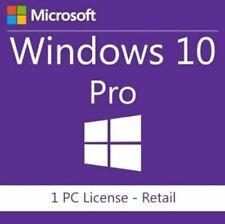 Microsoft Windows 10 Pro (OEM) (1) - Full Version for Windows FQC08929