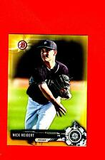 2017 BOWMAN YELLOW RETAIL PAPER PARALLEL Nick  Neidert  Mariners #BP126 vg READ
