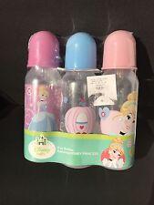 3-9oz  Disney Princess Cinderella Baby bottles