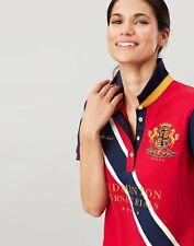 Joules Womens Badminton Women's Polo Shirt - Red