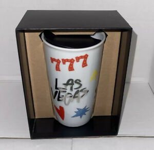 2018 Brand New Starbucks Las Vegas Ceramic 777 Tumbler Travel Mug With Box 10 oz