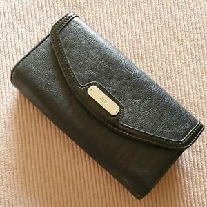 Jag Ladies Wallet Navy Imitation Leather