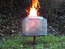 Waschmaschinentrommel als Eventbeleuchtung, Feuerstelle, Outdoorheizung, Grill