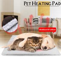 Pet Self Heating Thermal Mat Dog Cat Bed Warmer Rug Cushion Pad Blanket Washable