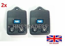 2X for Ford Transit Connect Maverick 3 Button Remote Key Case Blue Button A56