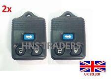2x Ford Transit Connect Maverick 3 Taste Entfernte Schlüsselanhänger Hülle Blau