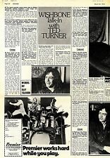 (Sds)24/3/1973Pg20/25 Wishbone Interview & Pictures