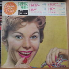"SURPRISE PARTIE ""SALADE DE FRUITS""  RETRO CHEESECAKE COVER FRENCH LP"