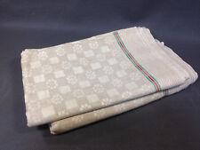 Lot 6 anciennes serviettes de table linge de Gerardmer Vosges vintage old towels