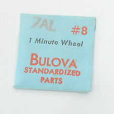 Bulova 7Al #8 Minute Wheel Standardized Parts Genuine New Old Stock Watchmakers