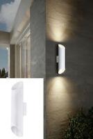Außenleuchte LED Wandleuchte Außenlampe Wandstrahler außen Up Down Light weiß