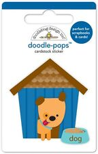 Doodlebug Design Inc. Doodle-Pops Huey's House Dog Sticker