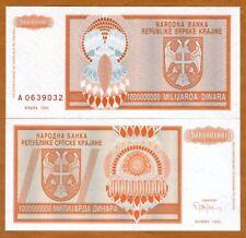 Croatia, Knin 1,000,000,000 Dinara, 1993, P-R17, UNC
