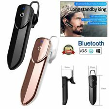Bluetooth Earpiece Headset Headphone Earphone with Mic for iPhone Samsung Lg Zte