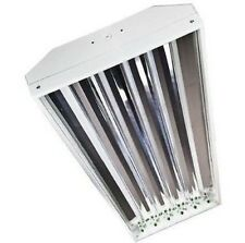 4 Lamp - F54T5HO T5 High Output Fluorescent High Bay - 54 Watt T5 Bulbs Included