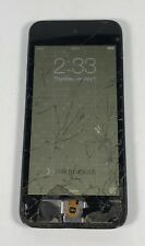 Black Apple iPod Touch 5th Generation 32GB A1421 Cracked Screen Passcode AS-IS