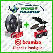 KIT DISCHI + PASTIGLIE FRENO POSTERIORI BREMBO PEUGEOT 307  00->
