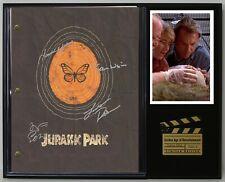 "Jurassic Park Reproduction Signature Script Display ""C3"""