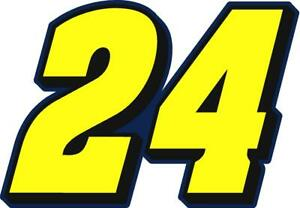 NEW FOR 2020 #24 William Byron Racing Sticker Decal - Sm thru XL - Various color