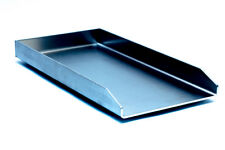 Edelstahl Plancha / Grillplatte /  für Weber Genesis II   / 480 x 340 x 4mm