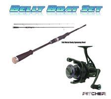 Belly Boat Set       FTA Black Spin + Vollmetall Rolle Pitcher 2000FD