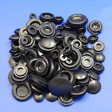 90 x ASSORTED BLANKING GROMMET PLUG  6 9 12 16 20 25mm CLOSED HOLE BUNG STOPS