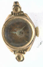 Antique Vintage WELSBRO Swiss 7 Jewel Watch Movement & Case Parts Repurpose #W96