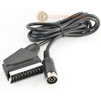 SINCLAIR ZX SPECTRUM +2, +3 HIGH QUALITY RGB SCART LEAD - 2 METRES