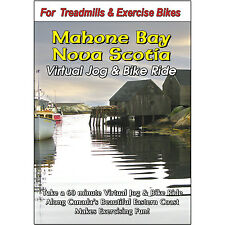 MAHONE BAY NOVA SCOTIA JOG & BIKE RIDE CYCLING VIDEO EXERCISE & FITNESS DVD