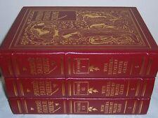 Easton Press Edmund Spenser's THE FAERIE QUEENE 3 vols MINT SEALED