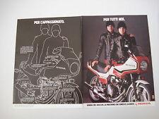 advertising Pubblicità 1982 MOTO HONDA CBX 400 F II