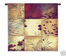 31x31 POPPY Floral Contemporary Tapestry Wall Hanging