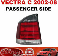 VAUXHALL VECTRA C 2002> BACK LIGHT REAR LAMP LH SMOKED SRI SXI PASSENGER SIDE