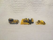 Vintage Lot of Bulldozers Road Roller Tootsietor Buddy L Hot Wheels Parts
