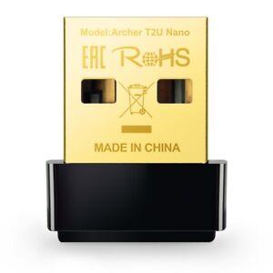 TP-Link Archer T2U Nano AC600 Wireless Dual Band USB 2.0 WiFi Network Adapter