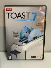 Roxio Toast 7 Titanium for Mac ~ New! ~ CD & DVD Burning Macintosh PC Computer