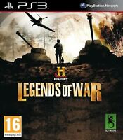 PS3 - History Legends of War New & Sealed UK Stock