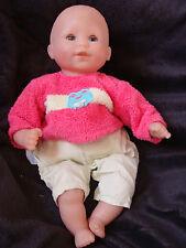 poupon poupée  - Corolle 95-12-J12 bébé calin rieur sans cheveux