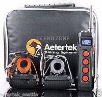 Waterproof 1000M Remote 2 Dog Training Shock Collar Trainer  w/ Auto Anti Bark