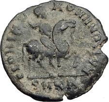 HONORIUS on Horse 392AD Original Genuine Authentic Ancient Roman Coin i64909