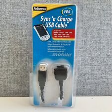 Fellowes Sync'n Power Charge Usb Cable Pda For Hewlett Packard