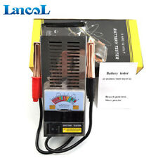 Vehicle Battery Tester  6V & 12V Car Truck Battery Load Tester Analyzer Detector