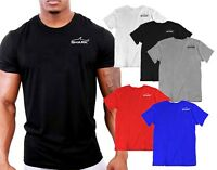 MENS  SL SHARK GYM T SHIRT THAI  BOXING WORKOUT TEE MMA UFC  TRAINER KING SIK