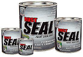 KBS Rust Seal Rust Prevention Frame Paint & Concrete Sealer - Galvanised Steel