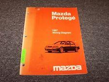 1997 Mazda Protege Sedan Electrical Wiring Diagram Manual DX LX ES 1.5L 1.8L