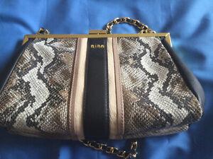 BIBA faux Snake Skin Shoulder Bag